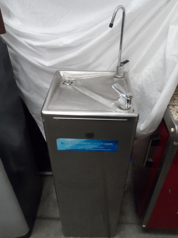 Cosmetal River AF25 cooler with swan neck tap