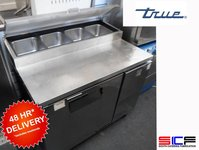 True Tpp-44 Commercial Refrigerated Pizza Prep Fridge