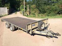 Ifor Williams LM146G - 14Ft Twin Axle 3500kg Flat Trailer