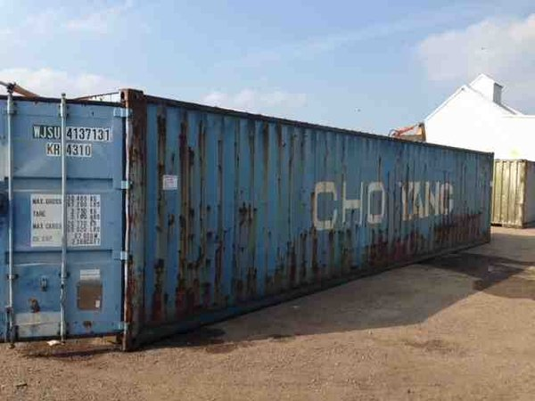 40ft Shipping Container exterior