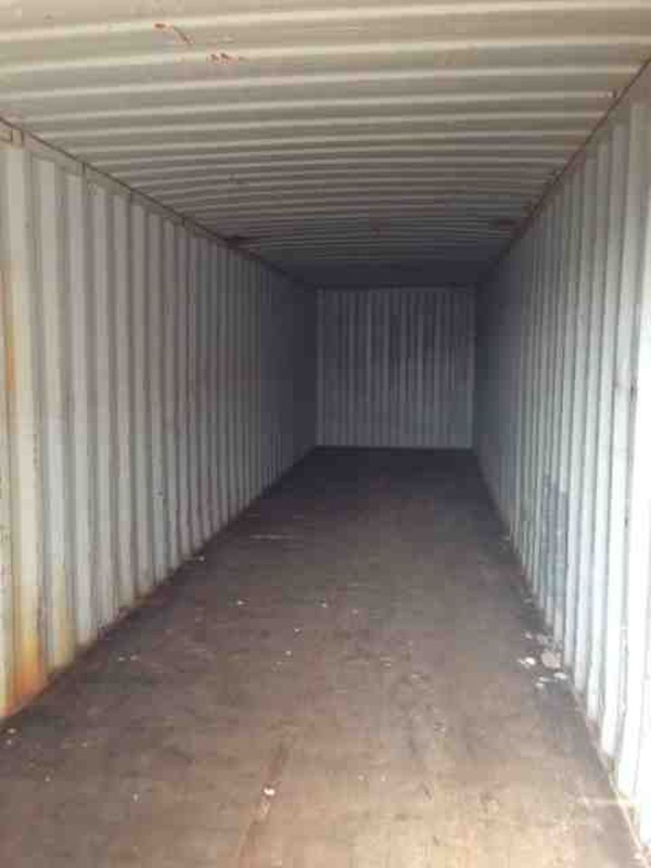 40ft Shipping Container interior