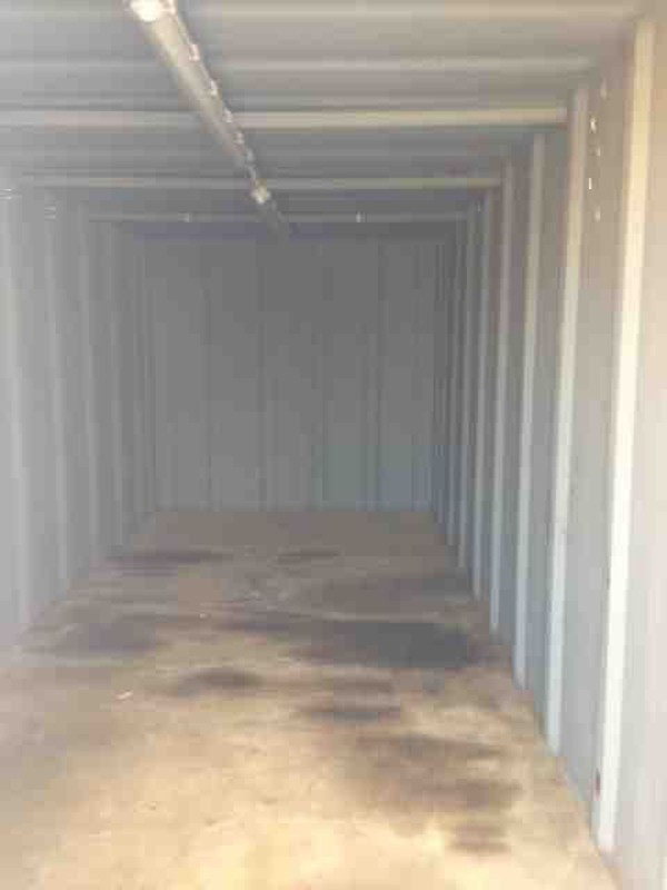 20ft x 9ft Steel Storage Container with lighting