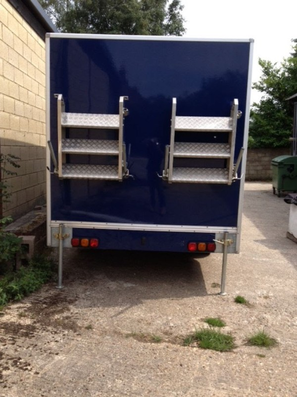 6 Single Bay Toilet Trailer for sale