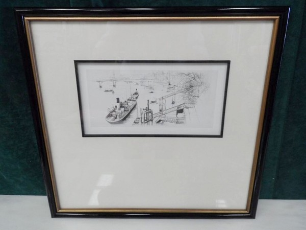 Framed print of London