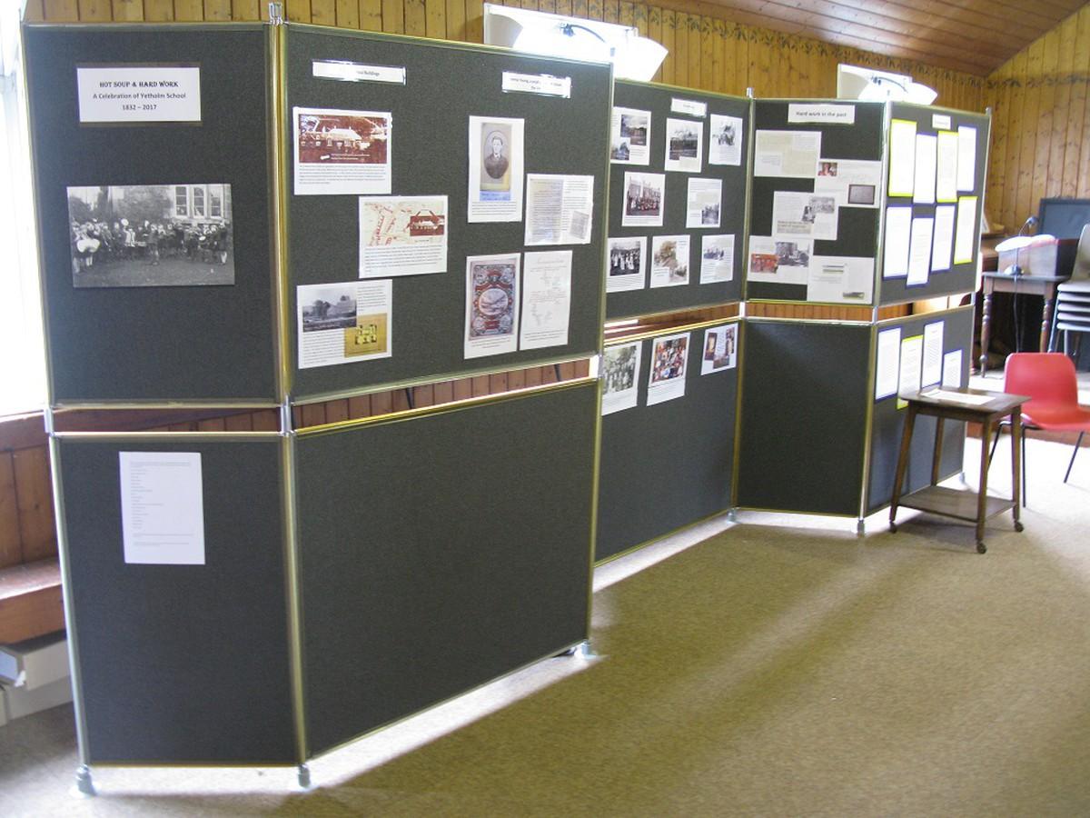 Exhibition Display Panels : Secondhand exhibition and display equipment display panels