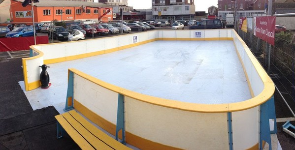 Synthetic Ice Rink Package for sale