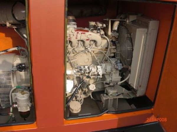 Iveco 70kva diesel generator