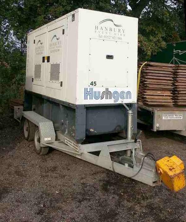 FG Wilson Super Silent generator set Perkins engine