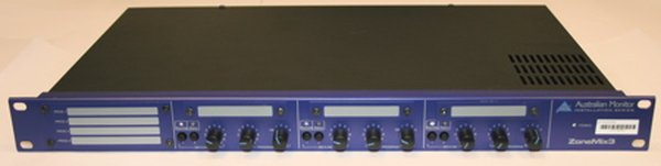 ZM3 Australian Monitor zone mixer