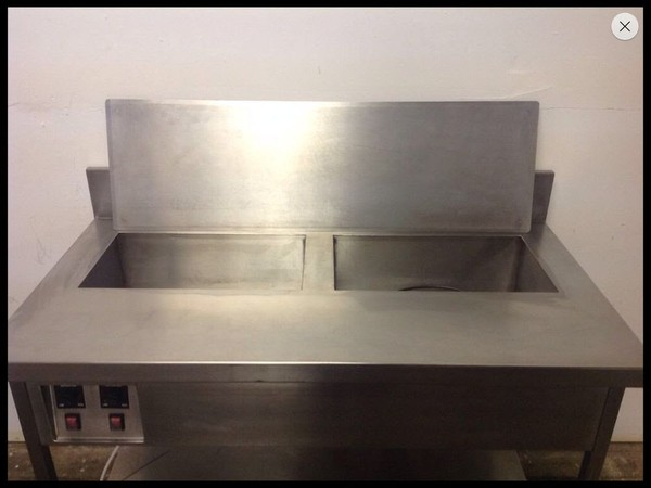 Bain marie with blanking plate for sale