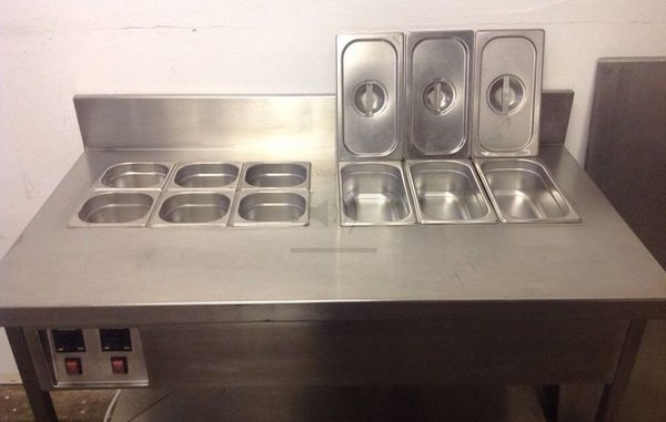 Twin Wet Well Bain Marie