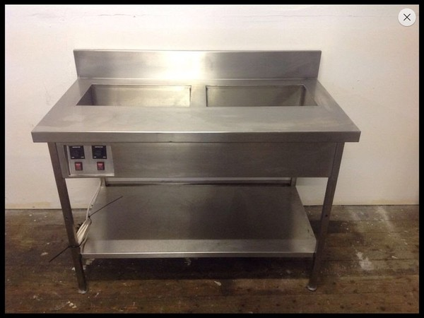 Wet Well Bain Marie and work bench