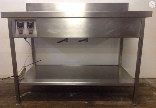 Wet Well Bain Marie with under storage