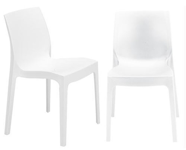 White strata chairs for sale