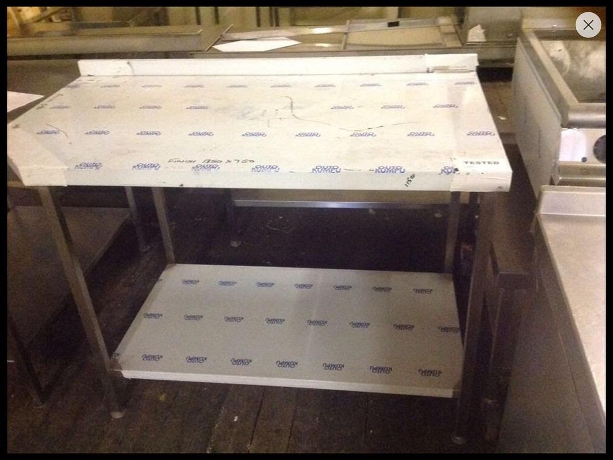 Awe Inspiring Stainless Steel Work Bench Brand New Lancashire Cjindustries Chair Design For Home Cjindustriesco
