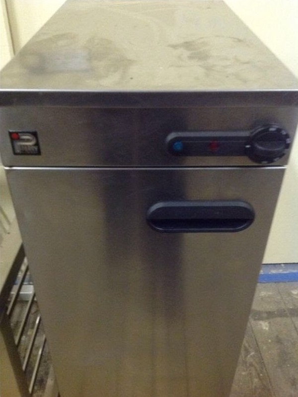 Buy Used Stainless Steel Parry Hotplate Warmer