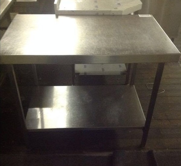 Buy Stainless Steel Centre Work Bench