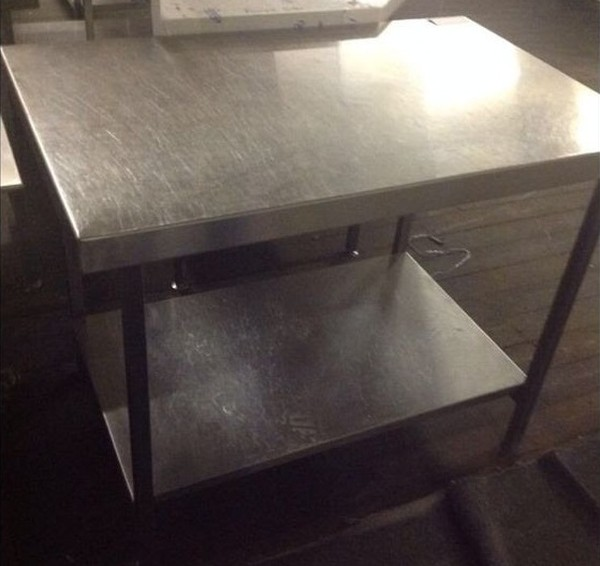 Stainless Steel Centre Work Bench for sale