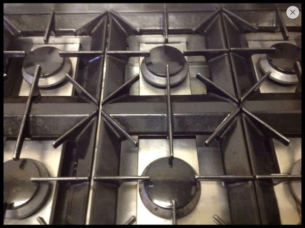 Moorwood vulcan 6 ring burner oven for sale