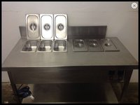 Wet well twin Bain Marie