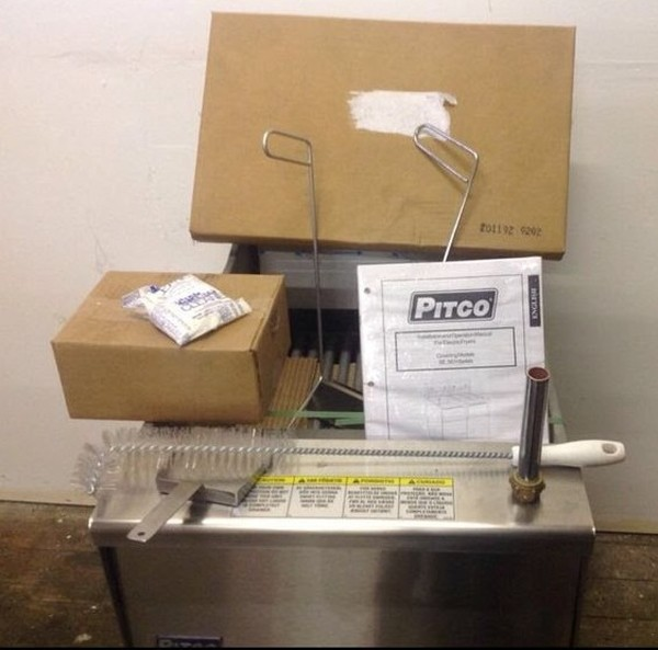 Second Hand Pitco Frialator 3 phase fryer