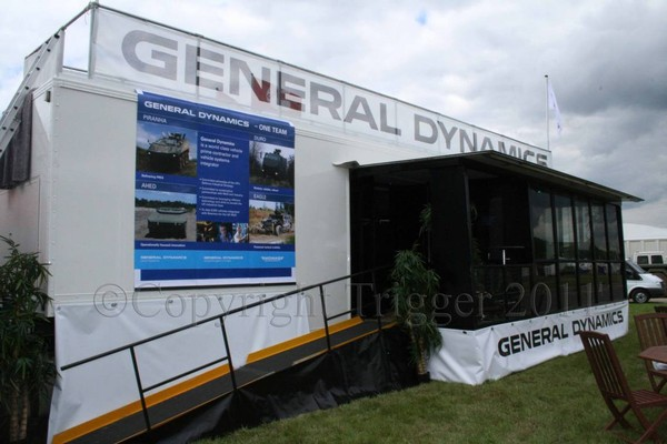 42' Double Gull Wing Exhibition Trailer
