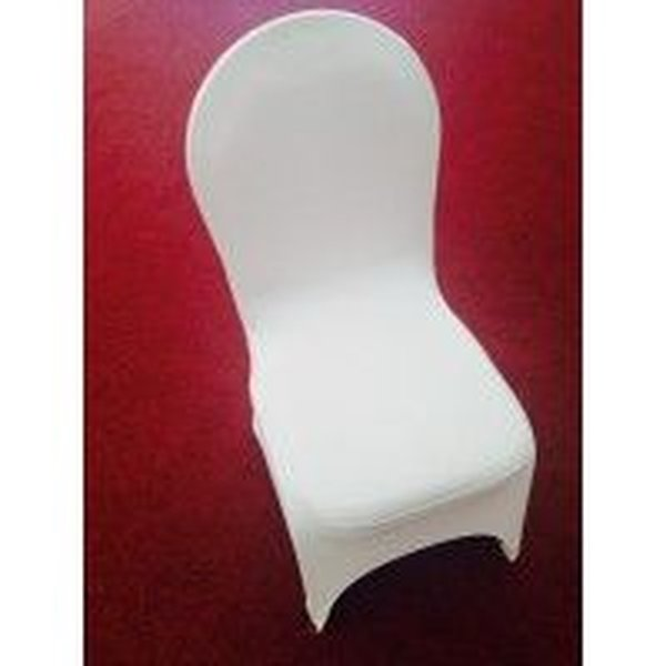 Spandex/Lycra White Chair Covers
