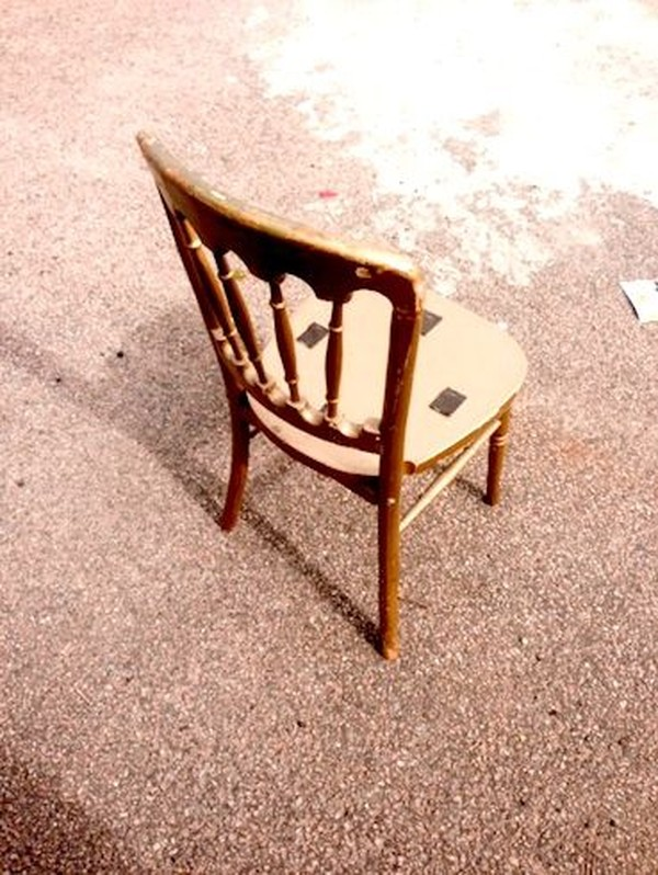 Gold Wooden Gilt Cheltenham Banquet Chairs