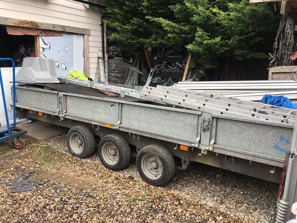 18ft Tri Wheel Ifor Williams Trailer