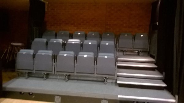 Retractable Auditorium Seating