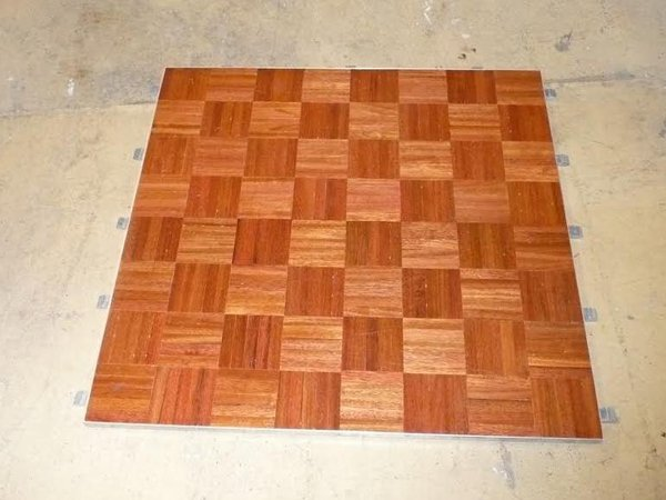 Parquet Polished Dance Floor3ft x 3ft sections