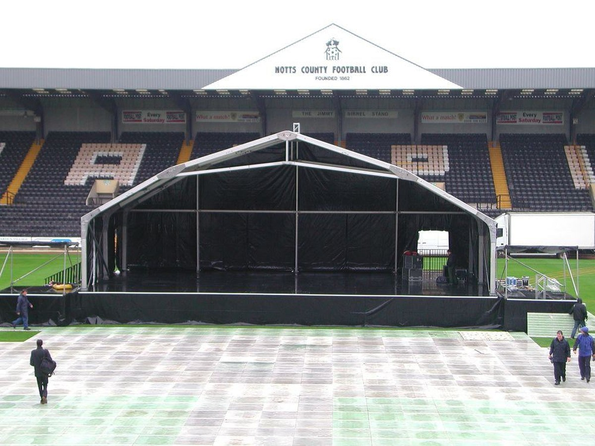 secondhand sound and lighting equipment stage roofs 18m x 9m concert stage canopy walsall. Black Bedroom Furniture Sets. Home Design Ideas