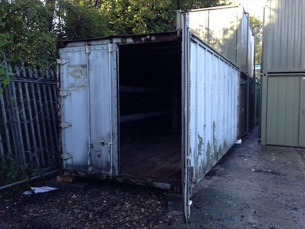 20'x8' Shipping Container