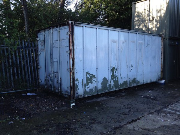20'x8' Ships Container