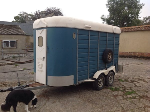 Sinclair Large Horse Trailer