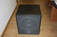 2 x D.A.S. Sub 18A Speakers, Used Once So In New Condition - Surrey