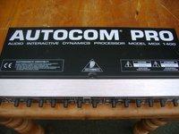 1x Autocom Pro MDK1400 Sound Limiter - Durham