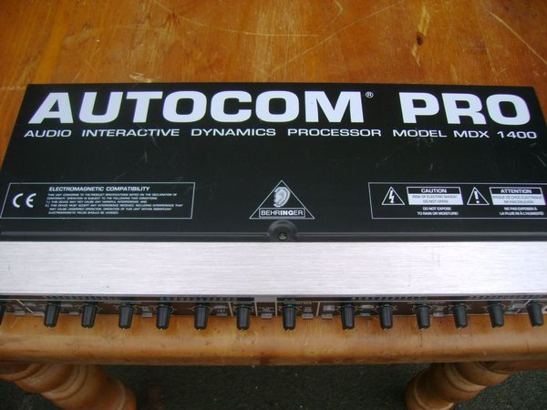 1x Autocom Pro MDK1400 Sound Limiter - Durham 1