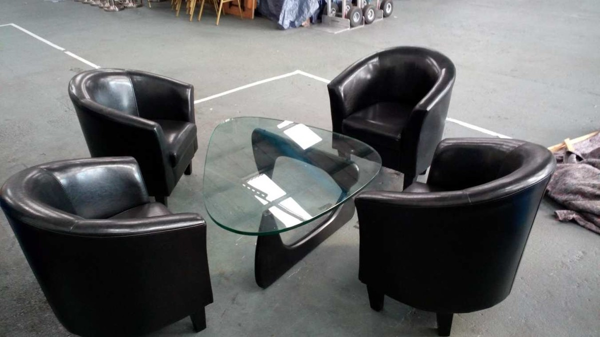 secondhand pub equipment chairs 20x faux leather effect tub