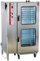 Convotherm model OSP 20.10 20 Combi Oven with Roll-in 20 Tray Rack