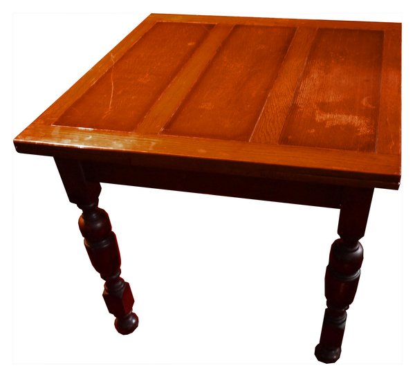 Square Draw Leaf Table