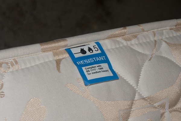 Fire resistant label