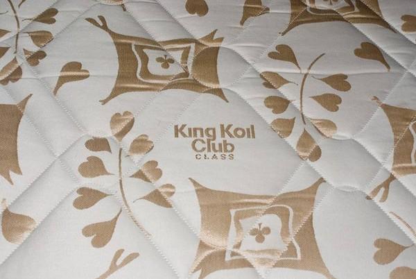 King coil class club matress logo