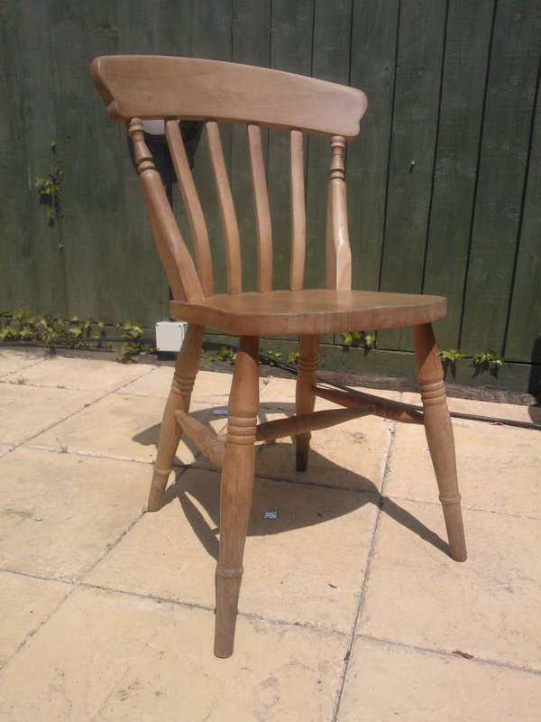 Beech farm chairs