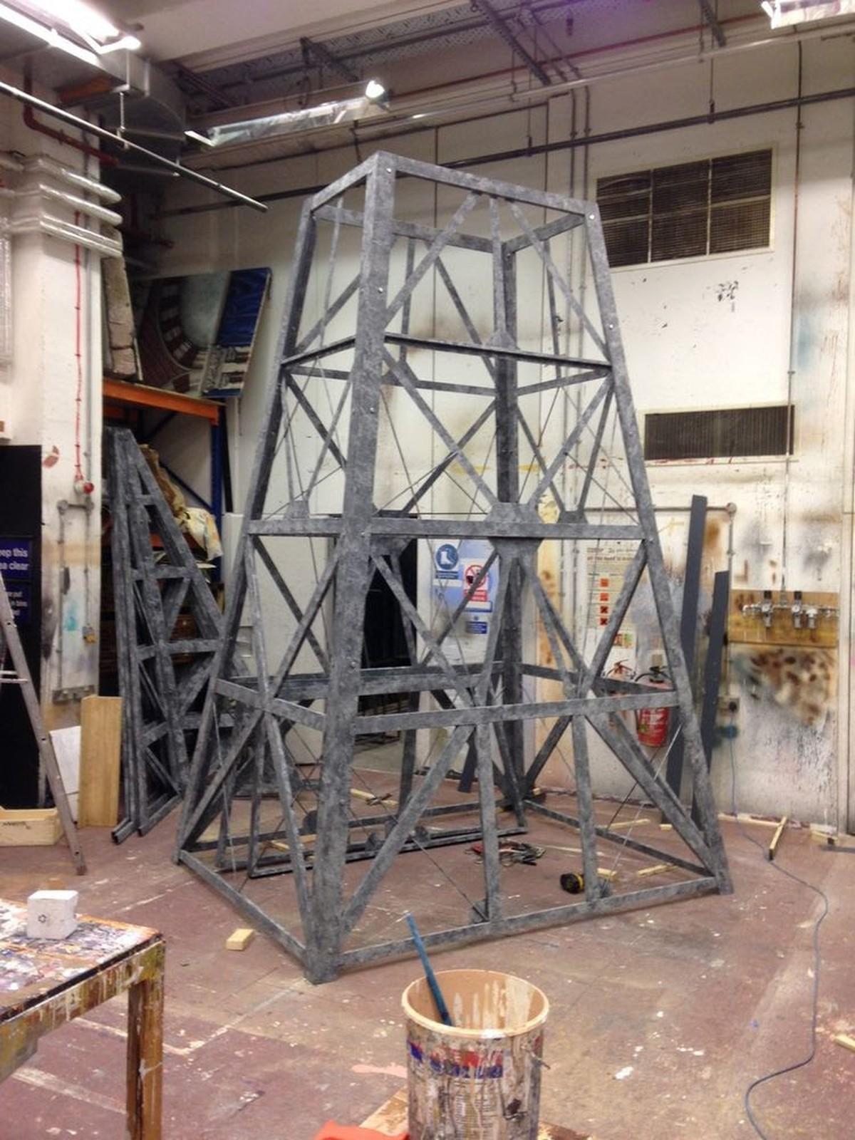 23ft Radio Mast (RKO) Tower Prop - Staffordshire