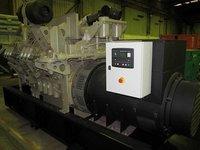 Unused Cummins KTA38 Gas Powered Generator (850Kva Prime Power)