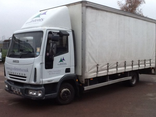 Iveco Eurocargo 75E17 Curtainside Lorry