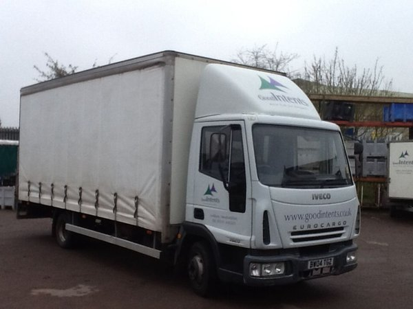 Iveco Eurocargo Curtainside Lorry