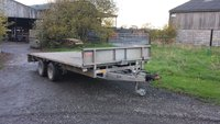 Ifor Williams Flat bed trailer for sale