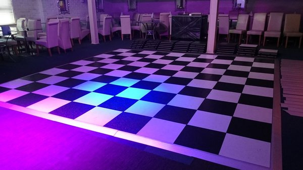 Chequer Dance Floor 12 x 12ft plus extras